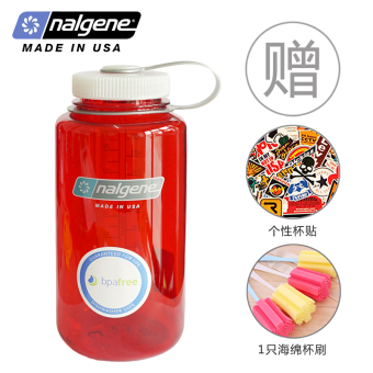 Nalgene 1000ml outdoor plastic large capacity portable kettle I cups
