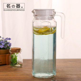 Name is heat-resistant large capacity explosion-proof home cool water pot glass of cold water bottle