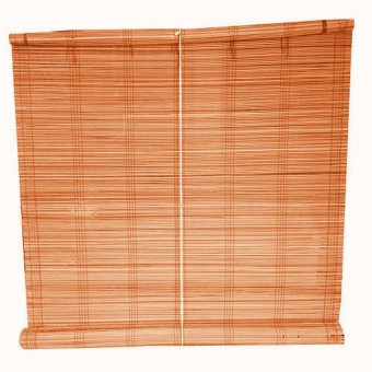 Native Bamboo Window Blinds 5ft. Wide x 5ft. Long (Brown)