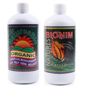 Natures Bio Organic Fertilizer and Natures Bio Nim Organic Pest Controller 500ml Price Philippines