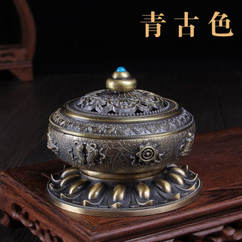 Nepal Alloy copper coil incense Sandalwood