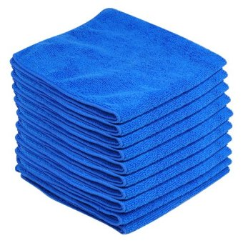 NEW 10 x MICROFIBER DRYING TOWEL CLOTH IDEAL FOR CAR HOUSE HOME BOAT CLEANING - Intl Price Philippines