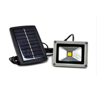 New 10W Solar Power Project-light Lamp Waterproof Night Light White