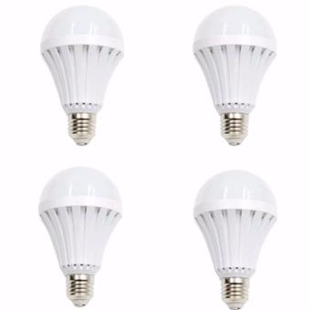New 12 Watts Intelligent Emergency Led Bulb Magic Bulb Set of 4