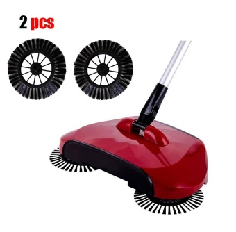 New 2pcs Arrival Home Use Magic Manual Telescopic Floor Dust Sweeper Side Brush - intl