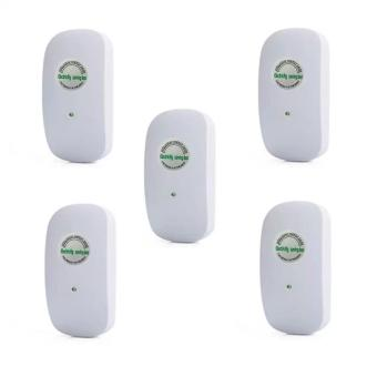 New 5Pcs/Set Genuine Original Upgraded Version Power Electricity Saving Box Case Useful Energy Saver For Stabilized Voltage 90-250V - intl