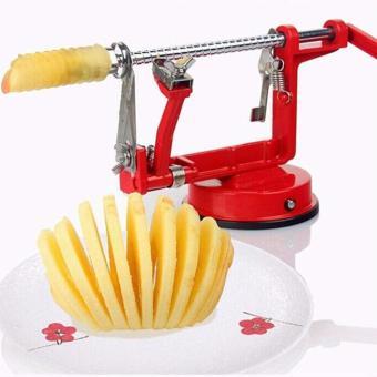 New Arrival Stainless Steel Fruit Peeler Apple Peeler SlicingMachine Vegetable Potato Slicer Cutter Kitchen Tool - intl - 2