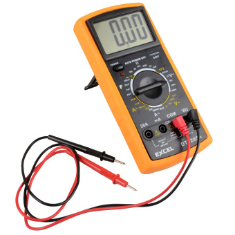 New Digital LCD Voltmeter Ammeter Ohmmeter Test Meter Multimeter