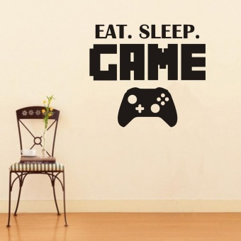 New Eat Sleep Game Version 2 Decal Sticker Wall Vinyl Art Design -intl - 3