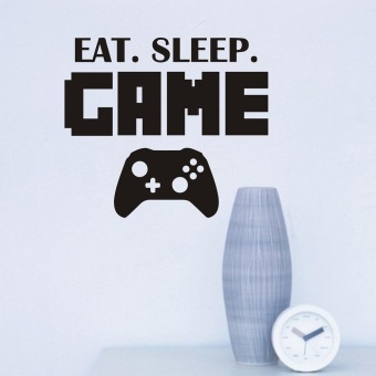 New Eat Sleep Game Version 2 Decal Sticker Wall Vinyl Art Design -intl - 5