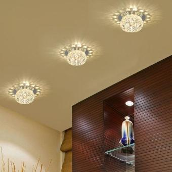 New Gorgeous Modern Crystal Pendant Lamp Exhibition Ceiling Chandelier Light - intl