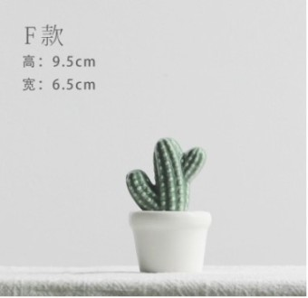 New Home Decorative cactus model plant ornaments