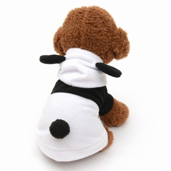 New Hoodie Costume Dog Clothes Pet Jacket Coat Puppy Cat CostumesApparel Winter Dog Hoodies For Small Dogs - intl
