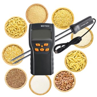 NEW MD7822 LCD Display Digital Food Grain Rice Corn Wheat Moisture Temperature Meter Tester