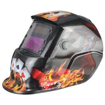 New Pro USA Auto Darkening Welding/Grinding Mask Helmet ACF - 3