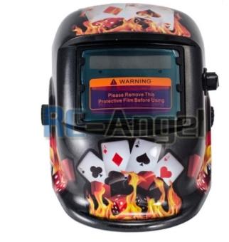 New Pro USA Auto Darkening Welding/Grinding Mask Helmet ACF - 2