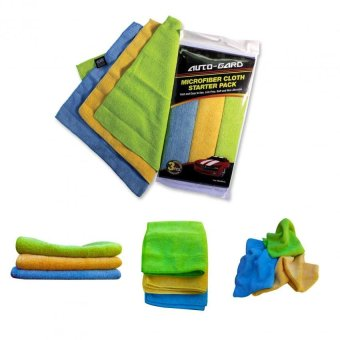 NFSC - Auto Gard Microfiber Cloth Starter Pack Set Of 5