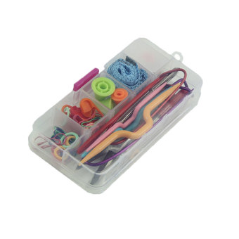 niceEshop Basic Knitting Tools Accessories Supplies Mini Sewing Kit(Multicolor) Price Philippines