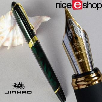 niceEshop Luxury Jinhao X450 Calligraphy Faountain Pen(Dark Green)