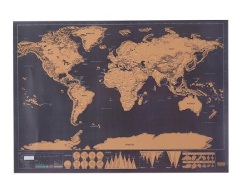 Where to buy 88x52cm deluxe travel scratch world map poster black niceeshop scratch off world mapscratch off world travel trackerposter map 30x425cm gumiabroncs Gallery