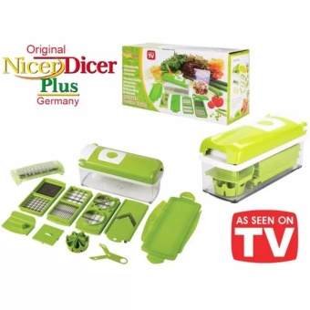 Nicer Dicer Plus Multi-function Vegetable Fruit Peeler Slicer Cutter Chopper