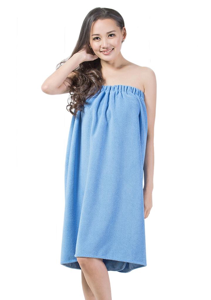 Philippines | NICESHOP Women Bath Wrap Skirt Towel Robe Spa Bathrobe ...