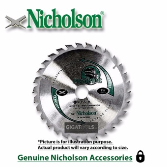 "Nicholson 12"" 30 teeth Circular Saw Blade 12x30T Price Philippines"