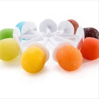 Nine Grid Silicone Push Up Ice Cream Jelly Lolly Mini Pops PopsicleMaker Yogurt Mold - intl - 5