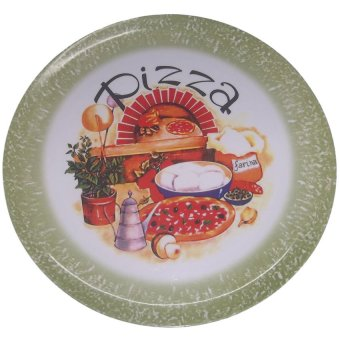 Nippon Ware 028 Pizza Tray with Server Set (Green)