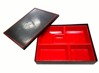 Nippon Ware 8106 Bento Box with Box Set (Red) Price Philippines