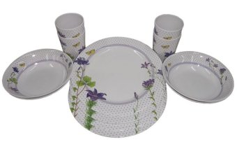 Nippon Ware A4653 Round Dinnerware Set (White/Yellow) Price Philippines