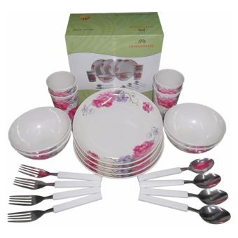 Nippon Ware A4660 Round Dinnerware Set (White) Price Philippines