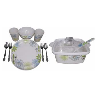 Nippon Ware S1575 + CQ7 in Green Florence Design Price Philippines