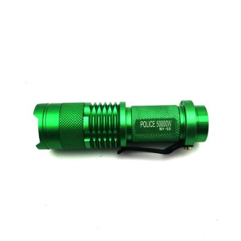 No. 68 Type Rechargeable Cree LED Flashlight (Green)