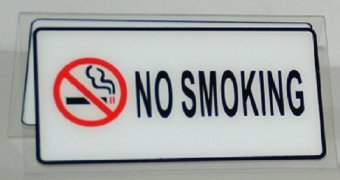 No Smoking Signage Set of 3