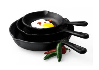 Non-stick Iron Frying Pan