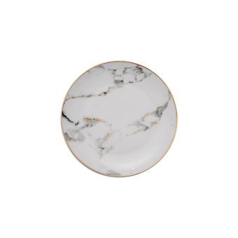 Nordic Jianyue marble texture with dish ceramic dish