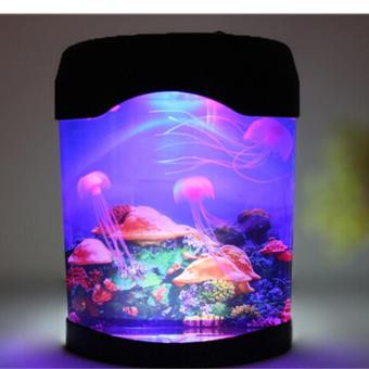 Novelty LED Artificial Jellyfish Aquarium Lighting Fish Tank NightLight Lamp
