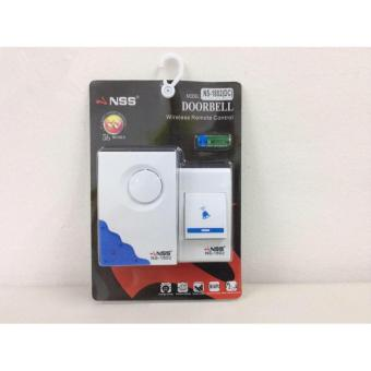NSS NS-1802 WIRELEESS REMOTE CONTROL DOORBELL(WHITE)