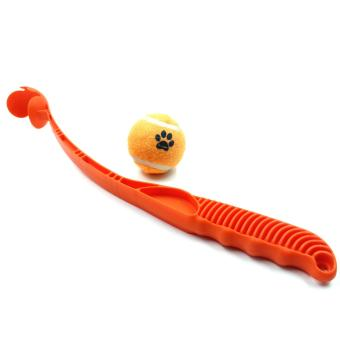 Nunbell Tennis Ball Launcher Pet Dog Toy Green