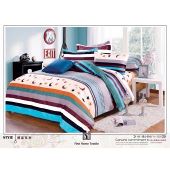 O -PH Good Quality BedSheet Cotton Classic Design BS-05 (Single)