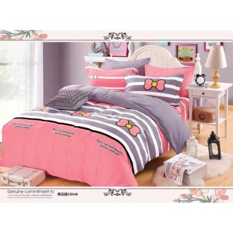 O -PH Good Quality BedSheet Cotton Classic Design BS-06 (King)