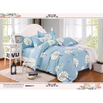 O -PH Good Quality BedSheet Cotton Classic Design BS-12 (Single)