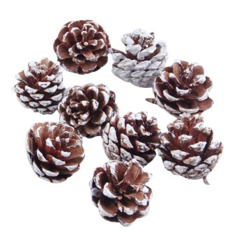 OEM 9X Christmas Pine Cones Baubles Xmas Tree Home Christmas Tree Decor - Intl - picture 2
