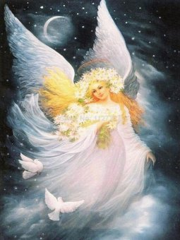 OEM Angel Diamond Painting 5D Full Diamond Embroidery Cross Stitch By Numbers Home Art Craft Wall Decor Paintings