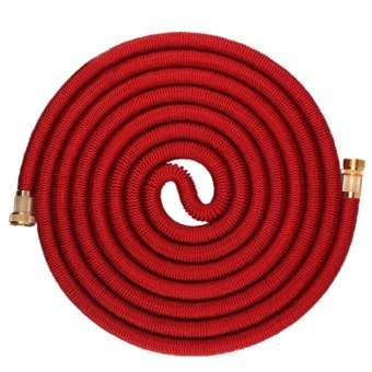 OH Durable Garden Hose Expandable Magic Flexible Water Hose For Home And Garden Red 25FT7.5m - intl