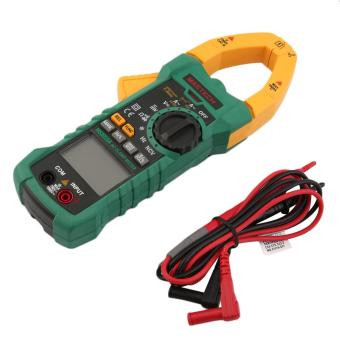 OH MASTECH AC DC Voltage Digital Clamp Meter Multimeter 1000A 6000 Counts Yellow & Green