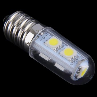 OH Pure/Warm White Refrigerator Light Bulb Lamp AC 110V E14 1W 7LED 5050 SMD Pure White Price Philippines