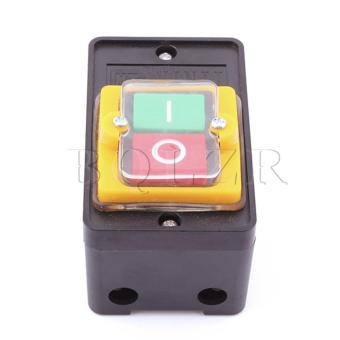 On/Off Water Proof Push Button Switch (Black)