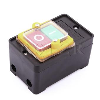 On/Off Water Proof Push Button Switch (Black) - picture 2